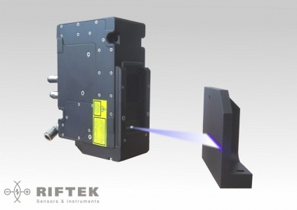 Blue laser scanner from RIFTEK